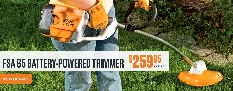 FSA 65 Battery-Powered Trimmer
